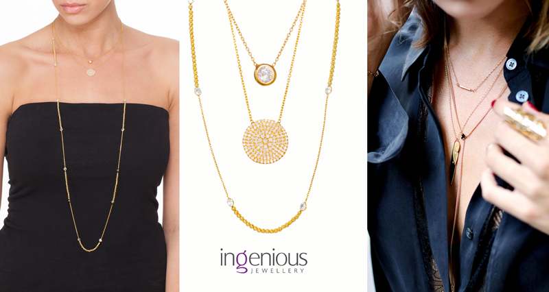 Ingenious Styling Guide: Necklace layering