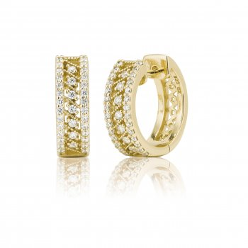 Ingenious Gold small hoop earrings