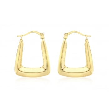 Jewel & Gem 9ct Yellow Gold Earring
