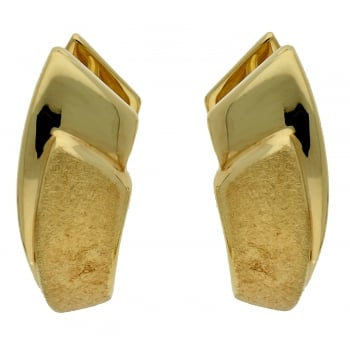 Jewel & Gem 9ct yellow gold creoles