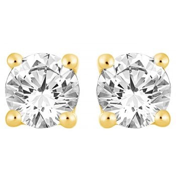 Adara 9ct 0.30ct I1/I2 Diamond Solitaire Stud