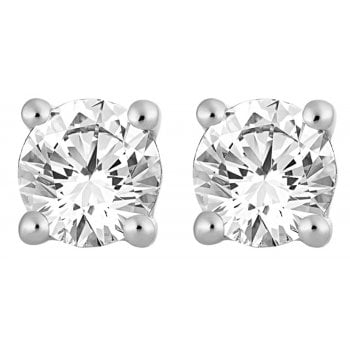 Adara 9ct 0.50ct I1/I2 Diamond Solitaire Stud
