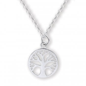 Jodie Rose Sterling Silver Tree of Life Pendant