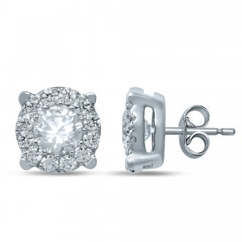 Adara 9ct Wg 0.30Ct I I2 Diamond Studs