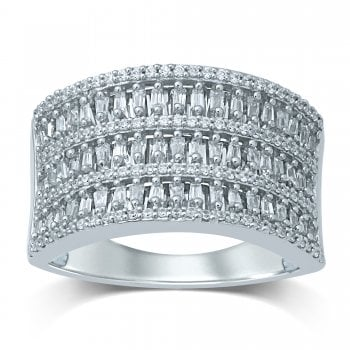 Adara 9ct WG 0.50ct Diamond Ring