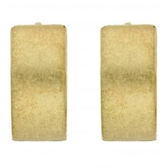 9ct yellow gold creoles