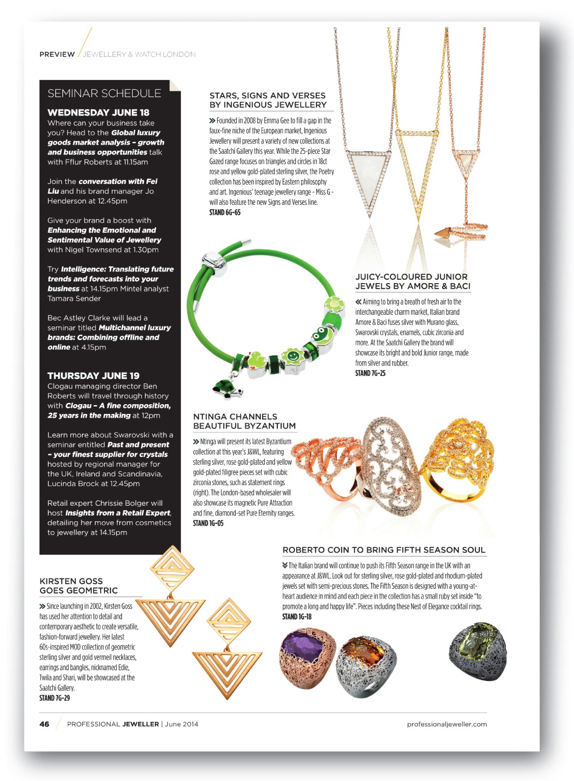Professional Jeweller June 2014